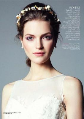 Magdalena Langrova Turkish Vogue