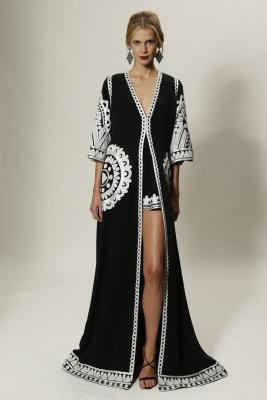Klara Urbanova Naeem-Khan Look Book
