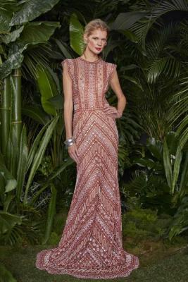 Klara Urbanova Naeem Khan Look Book